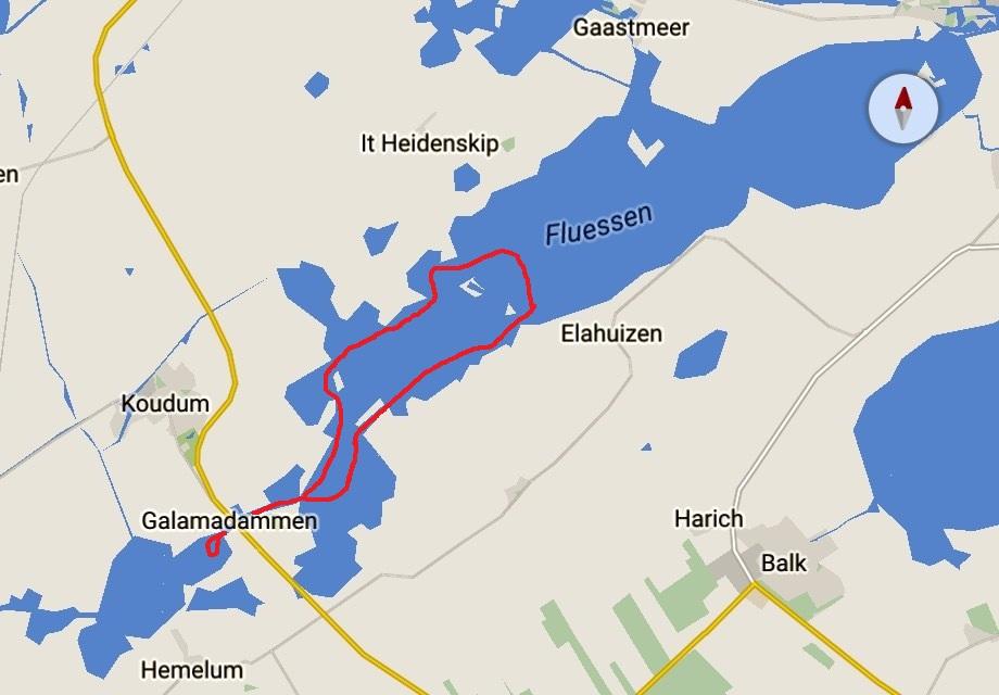 Friese meren kaart 17-5 3