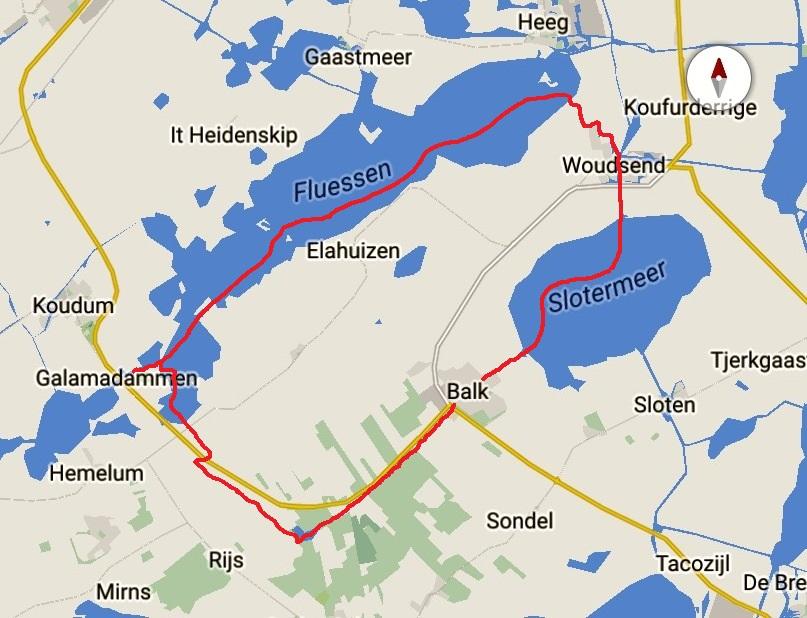 Friese meren tocht 17-5 3